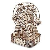 Kit de Modelo de Noria de Madera con Música para Construir un Rompecabezas de Madera 3D para Armar una Gran Idea de Regalos para Cumpleaños y Navidad