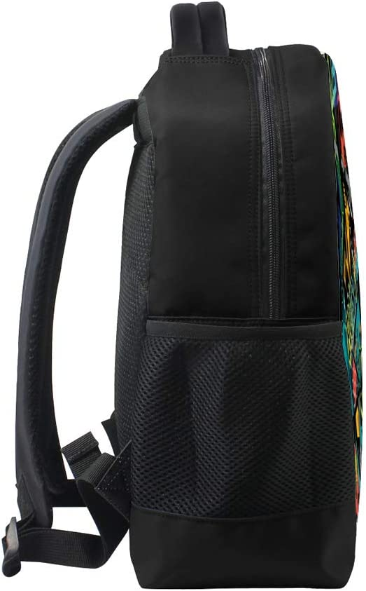 XYDE Travel Laptop Backpack Large Capacity Children School Backpack Business Ddurable Water ResistantGrunge Urban Pattern with Football College Laptop iPad Tablet Bag for Men and Women
