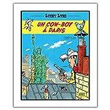 ZigZag Editions Poster Offset Lucky Luke, Un Cowboy à