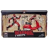 Hasbro accion Marvel Figura con vehículo Deadpool, Multicolor (E4702CB0)