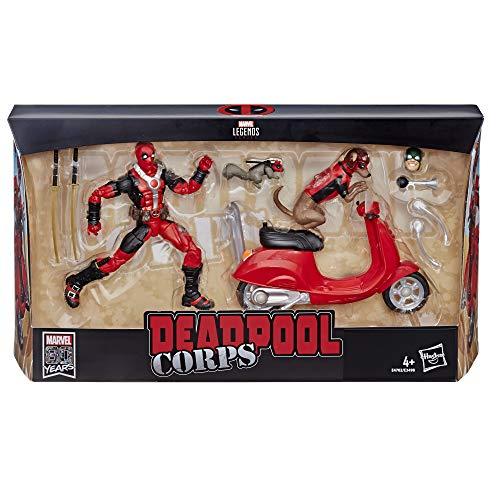 Marvel - Figura con vehículo Deadpool