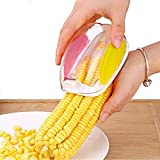 Amulakh Magic Plastic with Steel Blades Corn Remover Kernel Stripper Peeler Cutter Seeds Remover