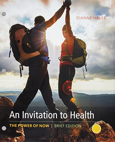 Bundle: An Invitation to Health, Brief Edition, Loose-Leaf Version, 10th + MindTap Health, 1 term (6 months) Printed Acc