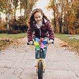 WeBetter Fahrradlenker Windrad, Karikatur Roller Windmühle Kinderfahrradlenker Spinning Flower Windrad, Dreiradwagen Lenker Windmühle Griff Fahrrad Lenker Griff Träger Zubehör Für Fahrrad Roller