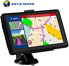 LONGRUF Car GPS Navigation,7-inch 256MB-8GB Real Voice Broadcast, Install The Latest Map of The United States (Free Update Lifetime Map)