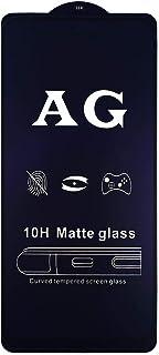 شاشة حماية زجاجية كاملة، انتي بلو ضد البصمة مطفية، شطف ليزر لهاتف هونر 9X ، لصق كامل بتقنية ال 10H الغير قابلة للكسر او ال...