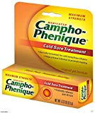 Campho-Phenique Cold Sore Treatment 0.23 oz (Pack of 6)