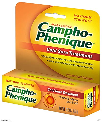 CamphoPhenique Original Cold Sore Treatment Gel Formula  023 oz