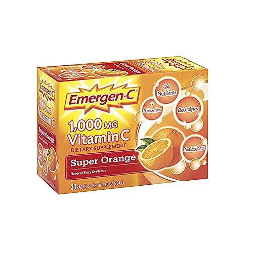 Emergen-C Super Orange 30 pkts by Alacer Corp.