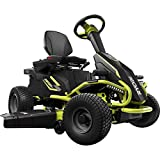 Ryobi 38-inches 100 Ah Battery Rear Engine (Electric) Riding Mower