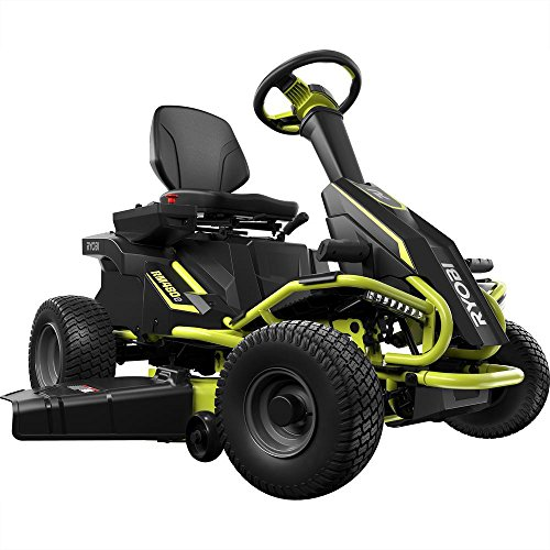 Ryobi 38 in. 100 Ah Battery Electric Riding Lawn Mower