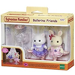 Milk Rabbit girl and Persian Cat girl wearing beautiful ballet tutus with sparkling brooches The dedicated stands can be used to pose the figures in various ways Suitable item for playing with Ballet Theatre (sold separately) Well-made with fine atte...