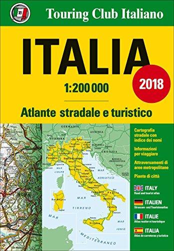 Atlante stradale Italia 1:200.000 [Lingua inglese]