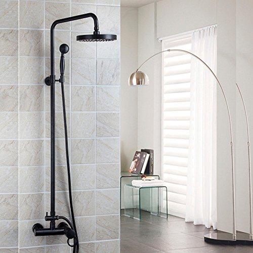 Good Quality Best Price ORB Finish Bathroom Shower Set Rain Shower Head Bath Shower Mixer with Hand Shower