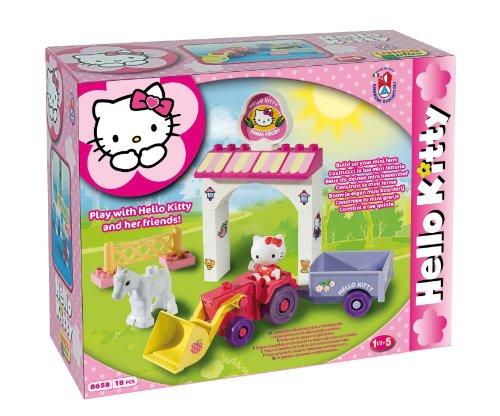 MGM 108658hk–Spiel-Bau–Hello Kitty–18-teilig