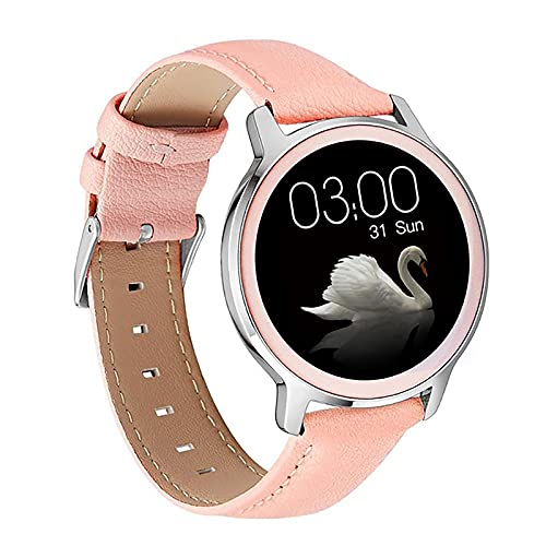ZGZYL 2021 Señoras S06 Smart Watch Admite La Presión Arterial De Sueño Monitor De Ritmo Cardíaco Ejercicio Fitness Tracker Smart Watch Pulsera Mujer para Android iOS,C