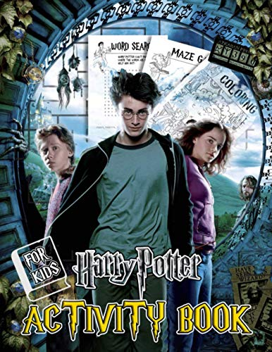 Harry Potter Activity Book: A Nice Activity Book With Lots Of Interesting Games And Harry Potter Designs For Learning And Relaxation