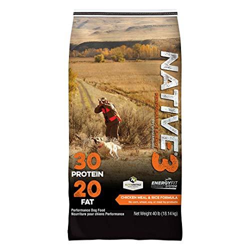 NATIVE Performance Dog Food Level 3 30:20 Chicken...