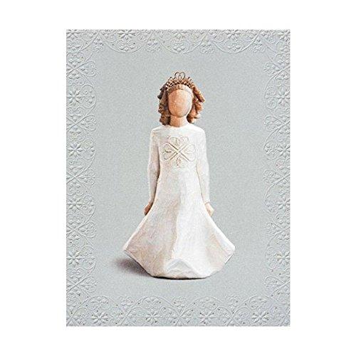 """Geburtstagskarte von Willow Tree, Motiv """"Irish Charm\"""", 23022"""