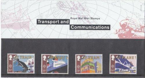 1988 TRANSPORT EN COMMUNICATIES STAMPS Presentatie Pack. NO.190