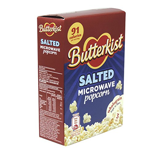 New Butterkist - Salted Microwave Popcorn - 210g (Case of 10)