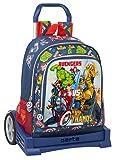 safta Mochila 522 Espalda Ergonómica con Carro Evolution de Avengers Heroes Vs Thanos,...
