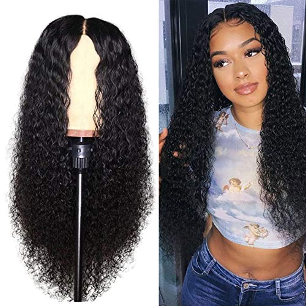 Lace Front Wigs Human Hair for Black Women Curly Hair Bleached Konts Brazilian Virgin Hair Lace Front Wigs Natural Hairline with Baby Hair(10