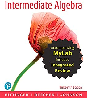 Intermediate Algebra with Integrated Review and Worksheets Plus Mylab Math with Pearson Etext -- 24 Month Access Card Package