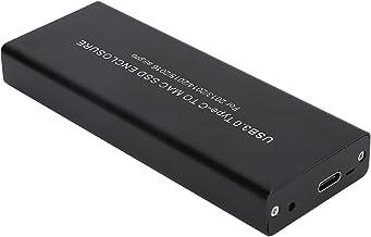Dpofirs Caja de Disco Duro USB 3.0, Herramientas portátiles Caja de Disco Duro Gratis para MacBook Air/Pro 2013‑2017 SSD d...