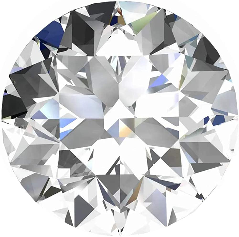 Impalsory Max 71% OFF Moissanite D Colorless Simulated Loose Diamond Max 59% OFF Stone R