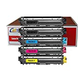 Calitoner TN225(5pk) Compatible Laser Toner Cartridge Replacement Brother for MFC-9130CW, MFC-9330CDW, MFC-9340CDW, HL-3140CW, HL-3170CDW Printer, 5 Piece (Limited Edition)