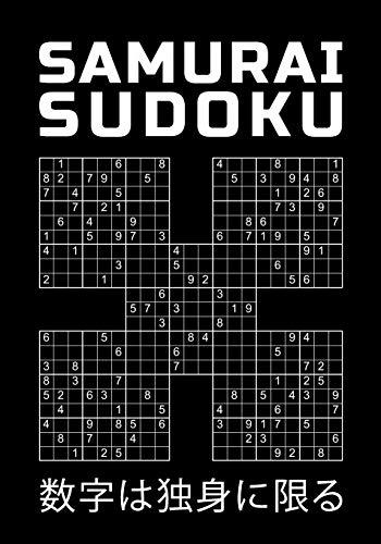 SAMURAI SUDOKU: 150 Killer Rätsel zum Knobeln | mittel bis schwer | Rätselbuch mit Lösungen