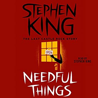Needful Things                   Written by:                                                                                                                                 Stephen King                               Narrated by:                                                                                                                                 Stephen King                      Length: 25 hrs and 11 mins     72 ratings     Overall 4.5