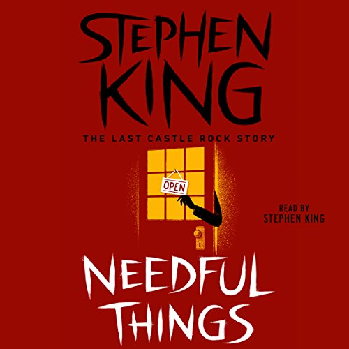 Needful Things audiobook cover art