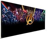 AK ART Avenger Marvel Leinwandbild Kunstdruck Wandbild