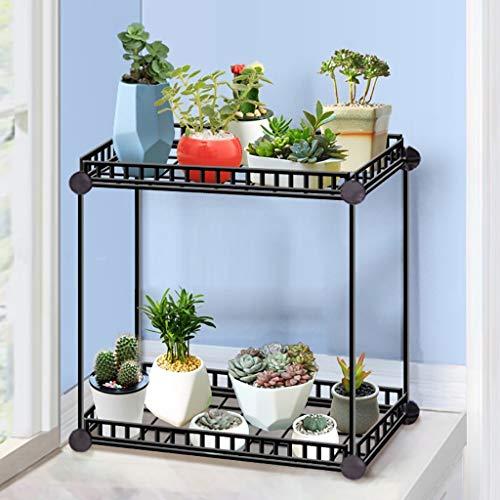GWFVA Afwerkingspot voor bloempotten. Vloer van bloempotten Verwijderbare bloemhouders Pulley trays Ondersteuning directory Woonkamer interieur Massief hout bloempotten Plant staan in potten (grootte: B)