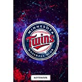 Weekly Planner MLB Notebook : Minnesota Twins Notebook Best Gift Ideas for Holiday Halloween , Christmas , Thankgiving , Newyear