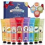 Set de Crema de Manos, Bálsamo labial, Eleanore's Diary Set de Regalo de 8 PCS Crema de Manos y 4...