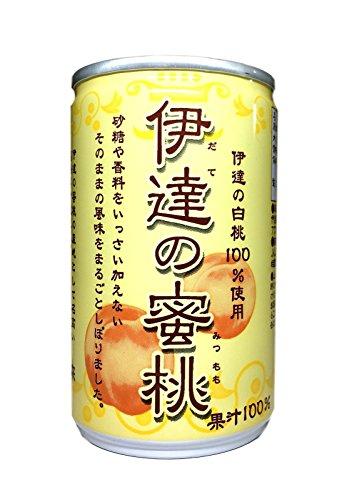 伊達の蜜桃 ≪ももジュース (ストレート) ≫ 160g×30缶