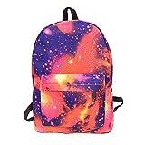 Gorgebuy Mochila Luminosa – Mochila Galaxia Brillante en Oscuridad Mochila portatil...
