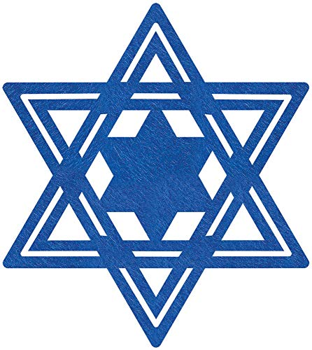 Star of David Placemat, 16.5'