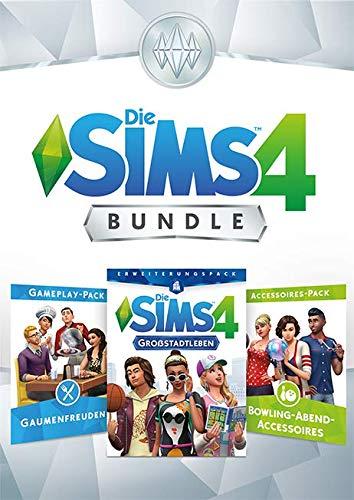 Die Sims 4 Bundle - Großstadtleben, Gaumenfreuden, Bowling Accessoires DLC | PC Download - Origin Code