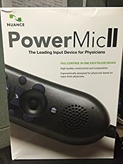 Nuance Dragon Medical Edition II Microphone - Powermic II - with Cradle