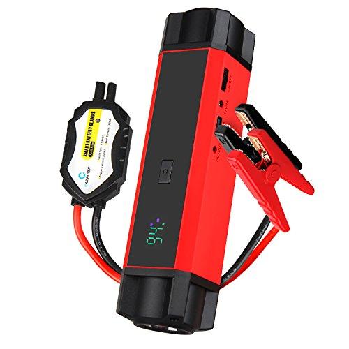 Car Portable Jump Starter Chargeurs de Batterie...