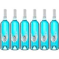 Blue Cock (Vino Azul) - Caja de 6 Botellas de 750 ml