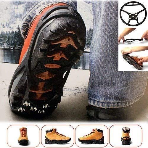 Les Colis Noirs LCN - Paire de Crampon Magic Spiker pour Chaussure Taille 36-42 - Anti Glisse Neige Glace - 946