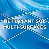 AJAX - Frais - Produit Ménager Sol & Multi Surfaces - À Utiliser Pur ou Dilué pour Nettoyer Toute la Maison - Sans Rinçage - Nouvelle Formule Éco-Responsable - 1,25 L