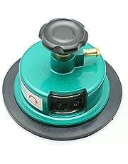 Cartón redondo, cortador de muestras de tela redondo de 100 m² para tela textil GSM equipo de prueba de peso, cortador de muestras de alfombras textiles
