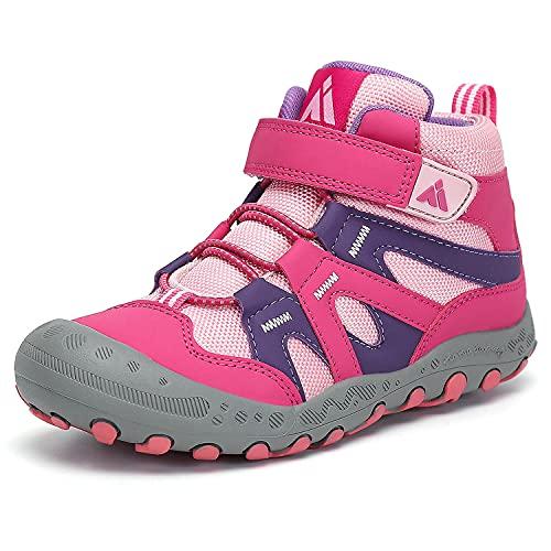 Mishansha Jungen Trekkingschuhe rutschfeste Mädchen Sneaker Outdoor Wanderschuhe Trekking- & Wanderschuhe Pink Gr.35