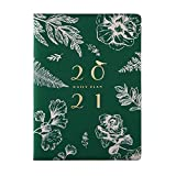 Kalender 2021 A5, Terminkalender Planer,Jahresplaner Taschenkalender als Lebensplaner, Wochenplaner, Planner, Buchkalender 2021 (Grün)